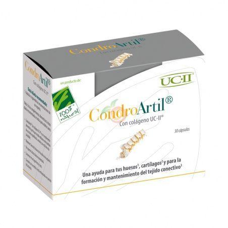 Condroartil con colágeno uc-ii 30 cápsulas cien por cien natural