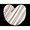 Palmeras con chocolate blanco sin gluten 150 gramos x 2 airos