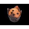 Muffins de vainilla con pepitas de chocolate sin gluten airos