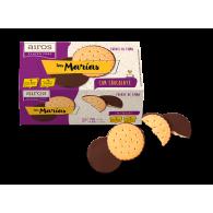 Galletas tipo maria con chocolate sin gluten 130 gramos airos
