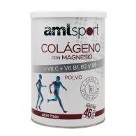 Colageno con magnesio + vit c + b1 b2 y b6 polvo sabor fresa 350 gramos a mlsport