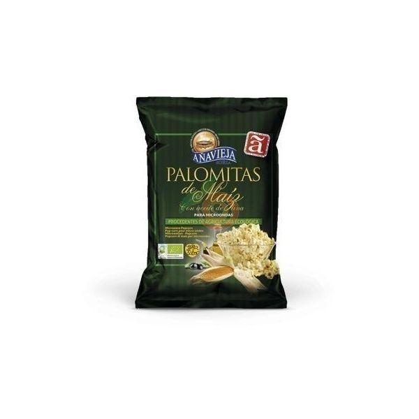Palomitas de maiz ecologicas para microondas 100 gramos añavieja