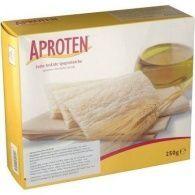 Crackers de pan tostado bajos en proteinas 250 gramos aproten