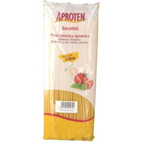 Espagueti pasta baja en proteinas 500 gramos aproten