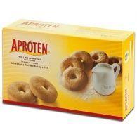 Galletas rosquillas a la leche bajas en proteinas 180 gramos aproten