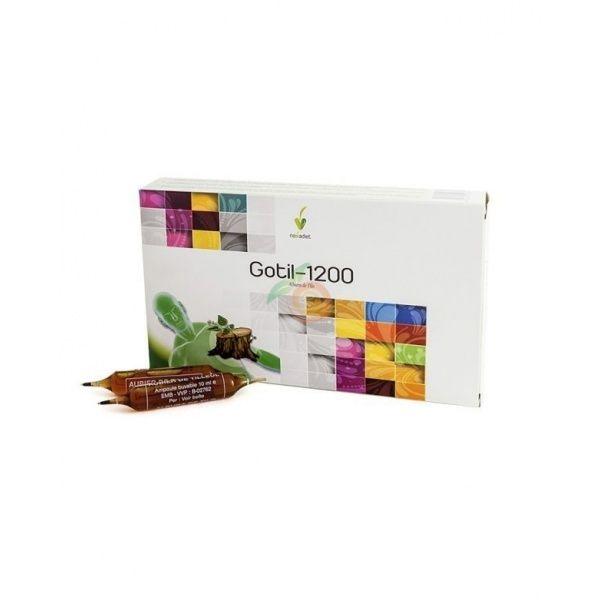 Gotil-1200 20 viales nova diet