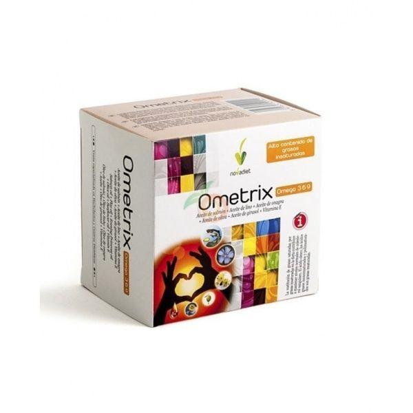 Ometrix omegas 369 60 cápsulas nova diet