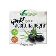 Paté vegetal de aceituna negra 2 x 50 gramos soria natural
