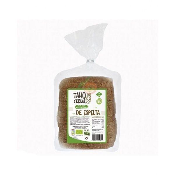Pan de molde integral de espelta bio 400 gramos taho cereal