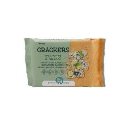 Crackers bio de romero y linaza terrasana