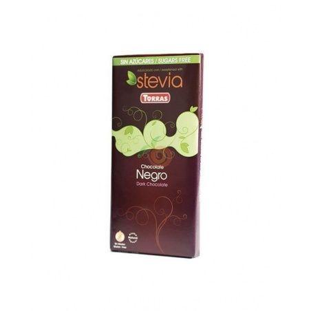 Chocolate negro 60% con stevia torras