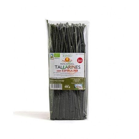 Tallarines con espirulina bio vegetalia