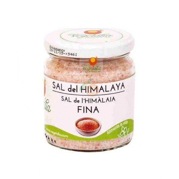 Sal himalaya rosa fina bote 250 gramos vegetalia