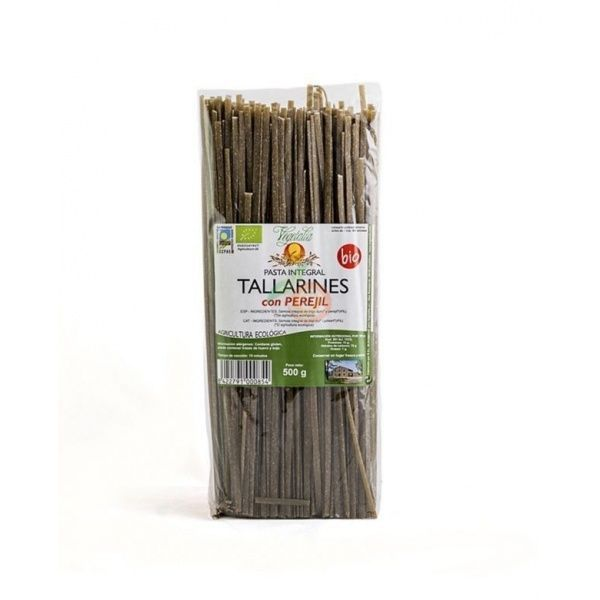 Tallarines con perejil bio 500 gramos vegetalia