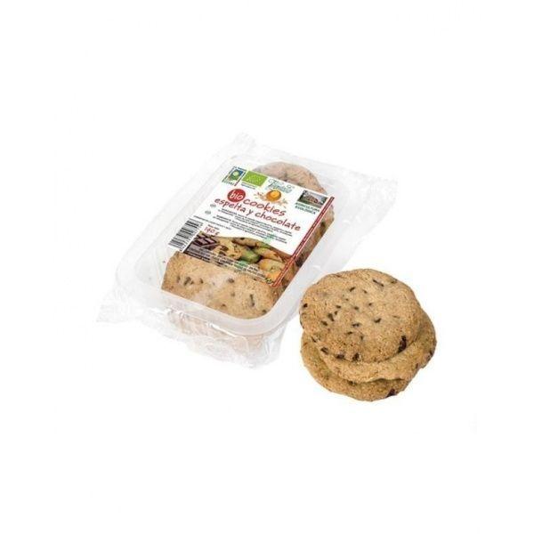 Cookies de espelta con chocolate bio 140 gramos vegetalia