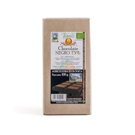 Chocolate negro 73% eco 100 gramos vegetalia