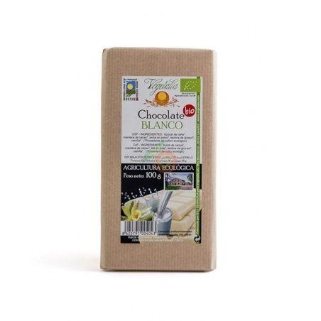 Chocolate blanco bio 100 gramos vegetalia