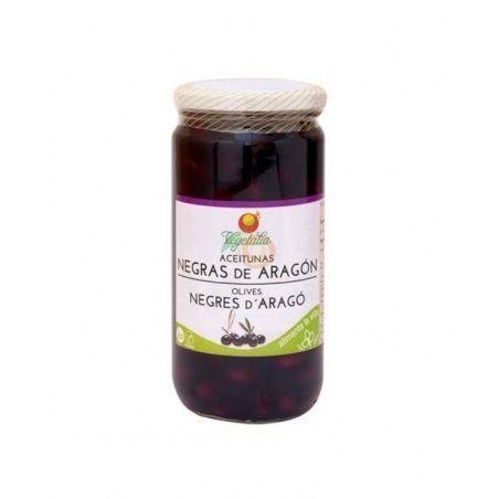 Aceitunas negras de aragon bio 220 gramos vegetalia