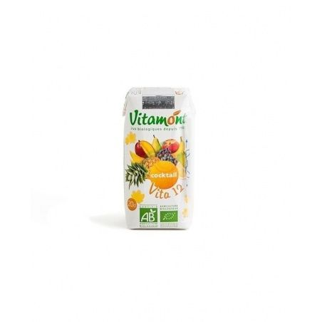 Zumo vita 12 fruits sin azucar bio 6 x 20 cl vitamont