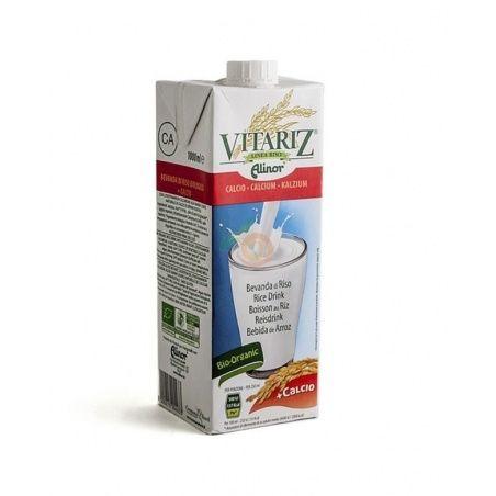 Bebida de arroz con calcio bio 1 litro vitariz