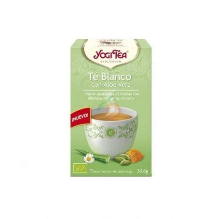 Té blanco con aloe vera bio 17 infusiones yogi tea