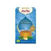 Infusión para los sentidos puro frescor bio 20 infusiones yogi tea