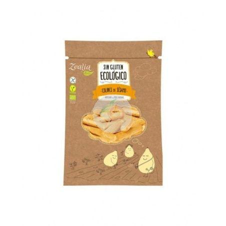 Colines de sesamo sin gluten ecologico vegano 75 gramos zealia