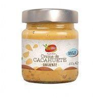 Crema de cacahuete crunchy bio sin gluten 200 gramos vivibio