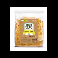Fusilli de garbanzo y cúrcuma bio sin gluten vegano 250 gramos zealia