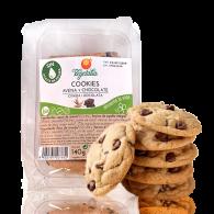 Cookies de avena y chocolate bio 1,700 kg vegetalia- venta granel