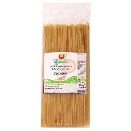 Espagueti trigo blanco bio 500 gramos vegetalia