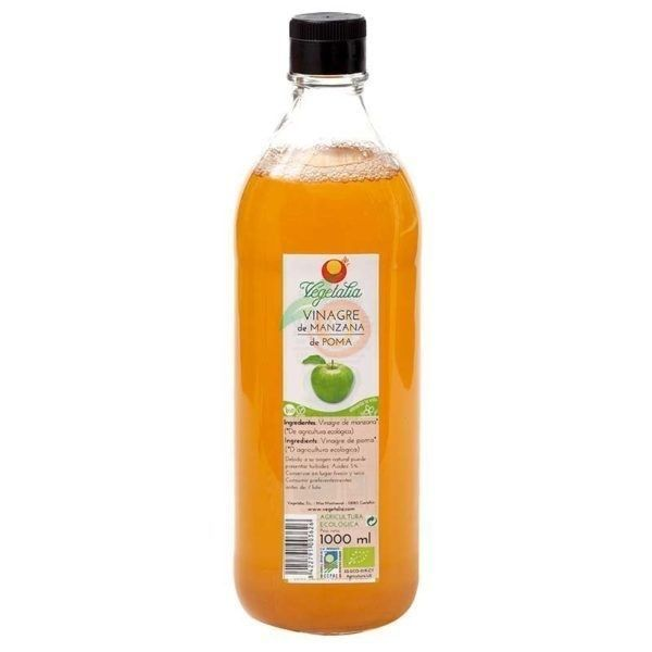 Vinagre de manzana bio 1 litro vegetalia