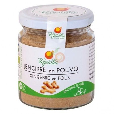 Jengibre polvo bio 80 gramos vegetalia