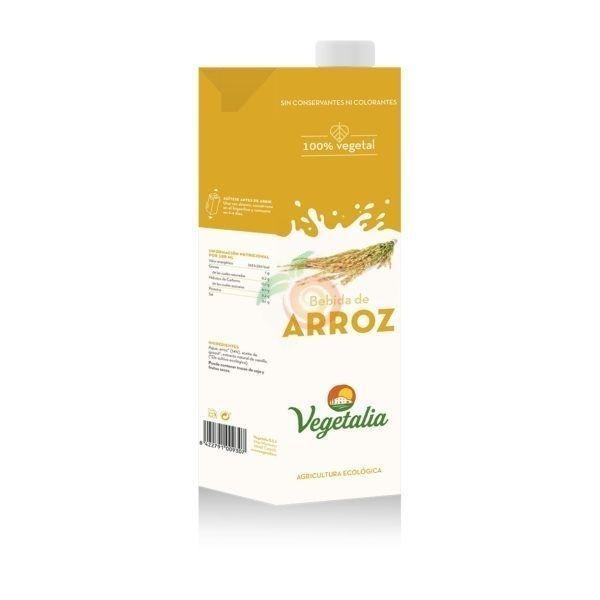 Bebida de arroz bio 1 litro vegetalia