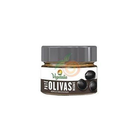 Paté olivas negras bio 180 gramos vegetalia