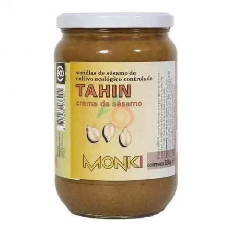 Tahin tostado sin sal biologico 330gr monki