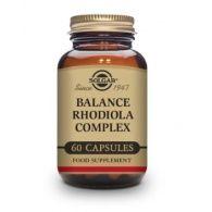 Balance rodiola complex 60 cápsulas solgar