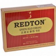 Redton ginseng rojo coreano 100 cápsulas grc