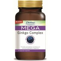 Mega ginkgo complex 60 cápsulas dietisa