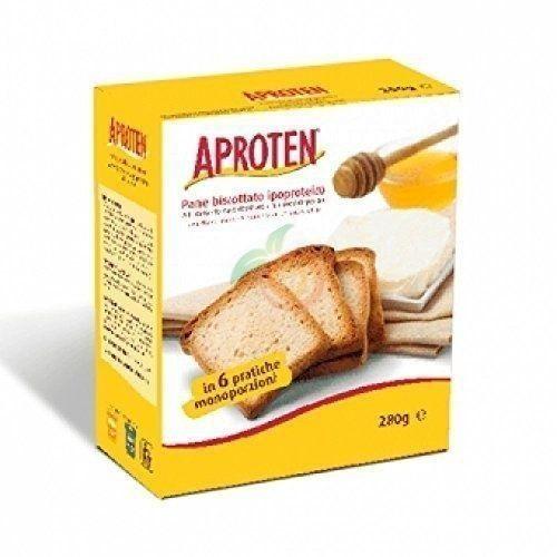Biscotes de pan bajos 260 gramos aproten