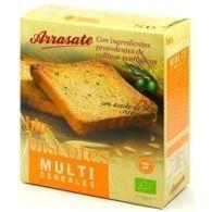 Biscotes multicereales bio 270 gramos arrasate