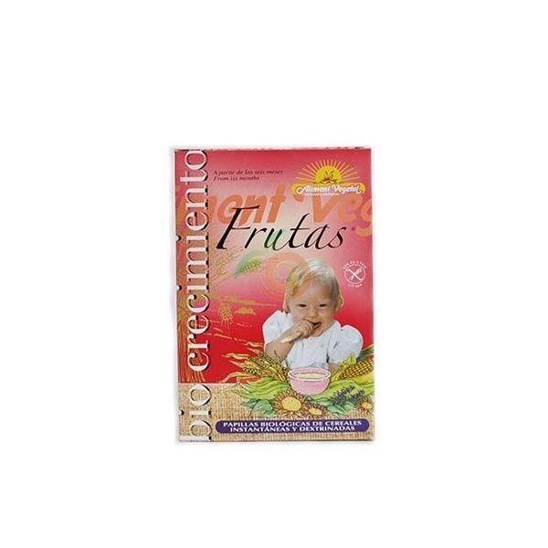Papilla de frutas 400 gramos biocrecimiento
