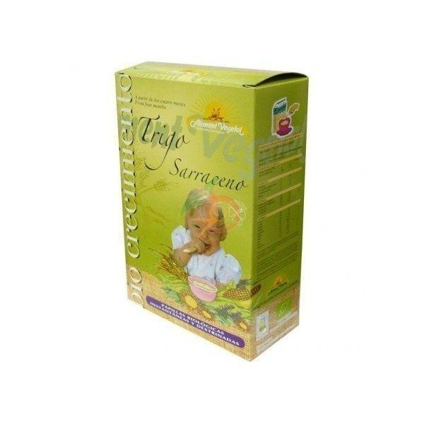 Papilla de trigo sarraceno 400 gramos biocrecimiento
