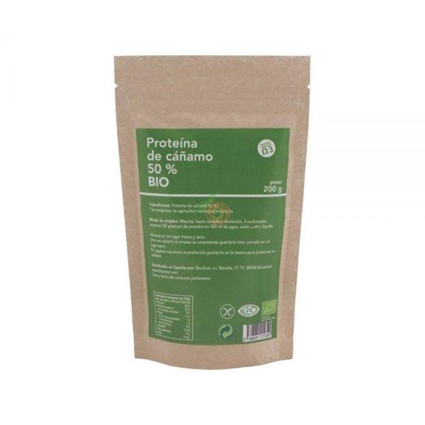 Proteínas de cañamo bio 200 gramos bioener