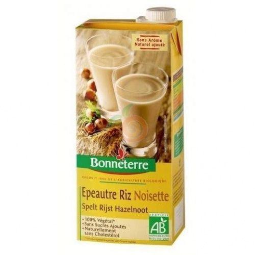 Bebida de espelta vegetal con avellanas 200 ml bonneterre