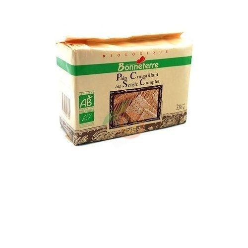 Crackers centeno bio 250 gramos bonneterre
