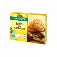 Galletas de castañas bio 125 gramos bonneterre