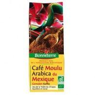 Café molido arábigo mejico bio 250 gramos bonneterre