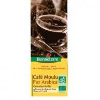Café molido puro arabigo bio 100 gramos bonneterre