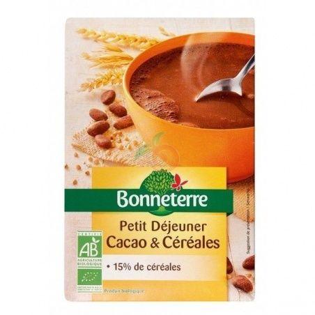 Desayuno cacao cereales bio 500 gramos bonneterre
